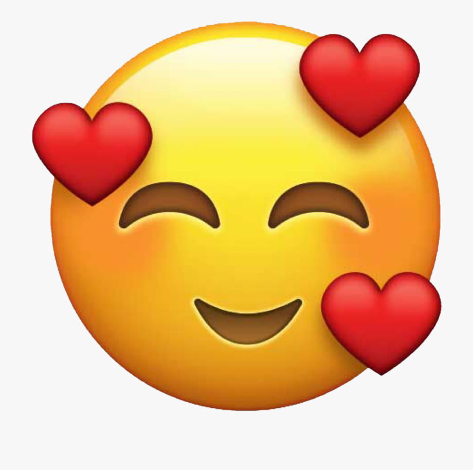 Emoticon Heart Sticker Love Emoji Png in 2020 Emoji