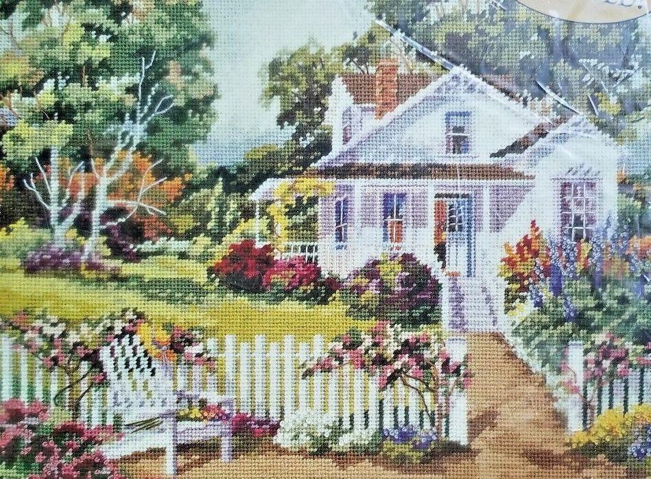 Bucilla Daydream Cottage Needlepoint Kit 4720 Bucilla Cross