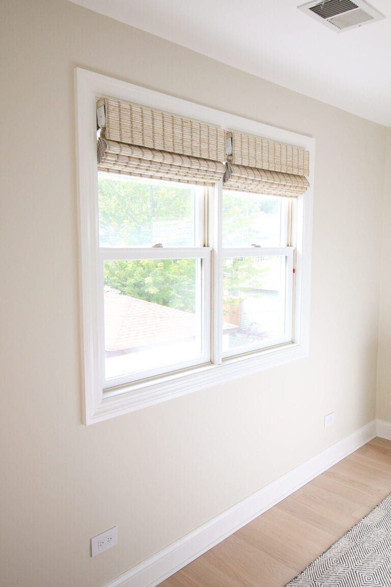 How to install blackout bamboo shades with images