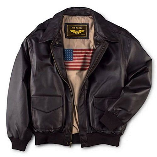 This flight jacket made to the same unyielding standards as the ...