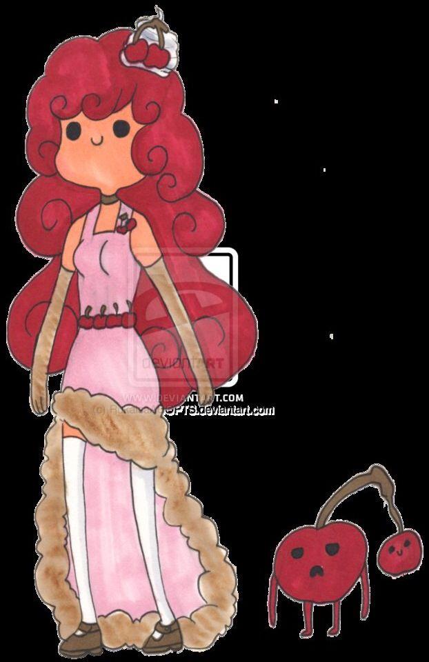Cherry cheesecake princess