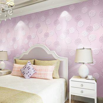 Buy Flowers Romantic Girls Room Bedroom Wallpaper