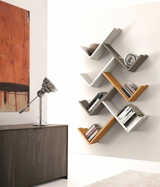Wooden Wall Shelf Zedline By Euromobil Storageshelves Mueblesminimalistas Wooden Wall Shelves Bookshelf Design Furniture Design Wooden
