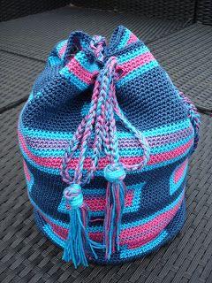 Uitgebreid Door Haakpatroon Bag Made MgGeïnspireed De Mochila By H2IEDYW9