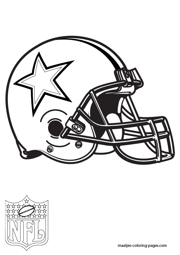 nfl logos Colouring Pages (page 3) | Football coloring pages