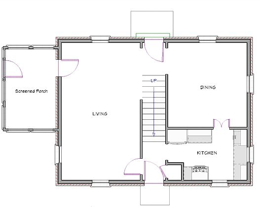 Floor Plan Before Modest Colonial Homey home – Open Floor Plans For Colonial Homes