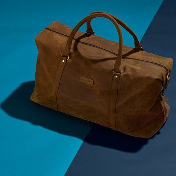 Vintage Leather Somerset Holdall