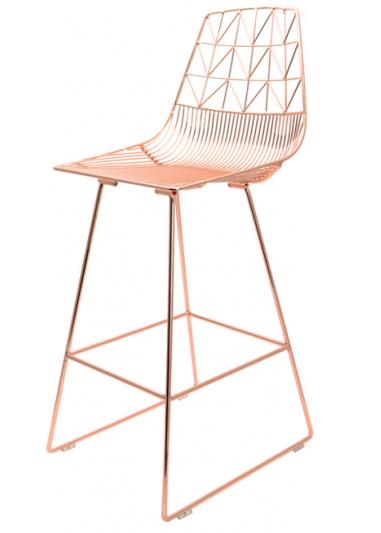 Peachy Arrow Wire Stools And Chairs Bseated Global Bar Stools Inzonedesignstudio Interior Chair Design Inzonedesignstudiocom