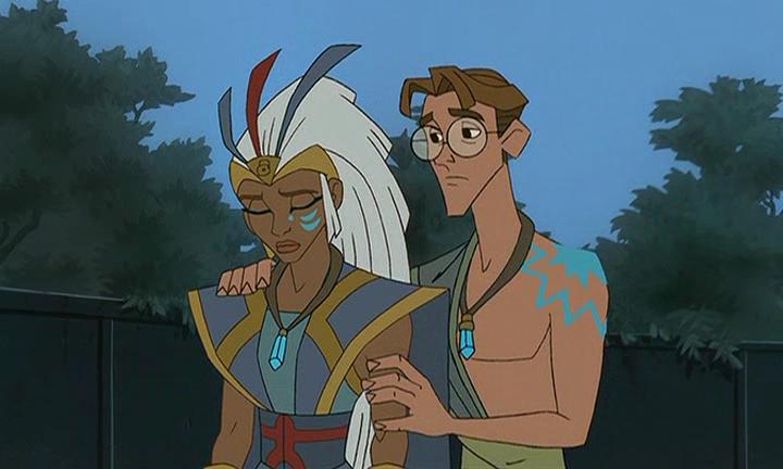Milo And Kida Disney Films Cartoon Atlantis The Lost Empire