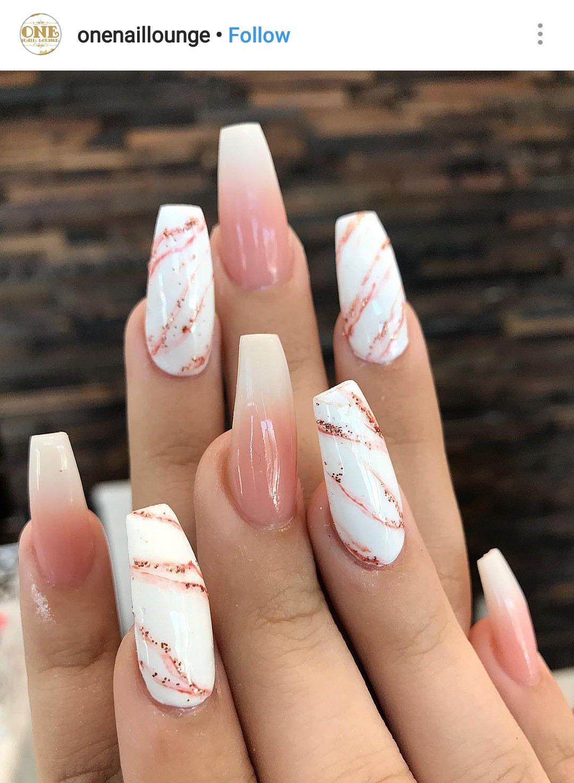 Pink Marble Nail Designs Summer Acrylic Chic Nails Chic Nail Art