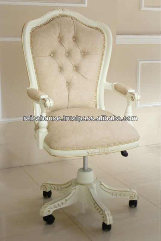 Beau French Furniture   Swivel Desk Chair   Buy French Style Furniture Chair, French Style Desk Chair,Jepara Furniture Product On Alibaba.com | Pinterest  | French ...