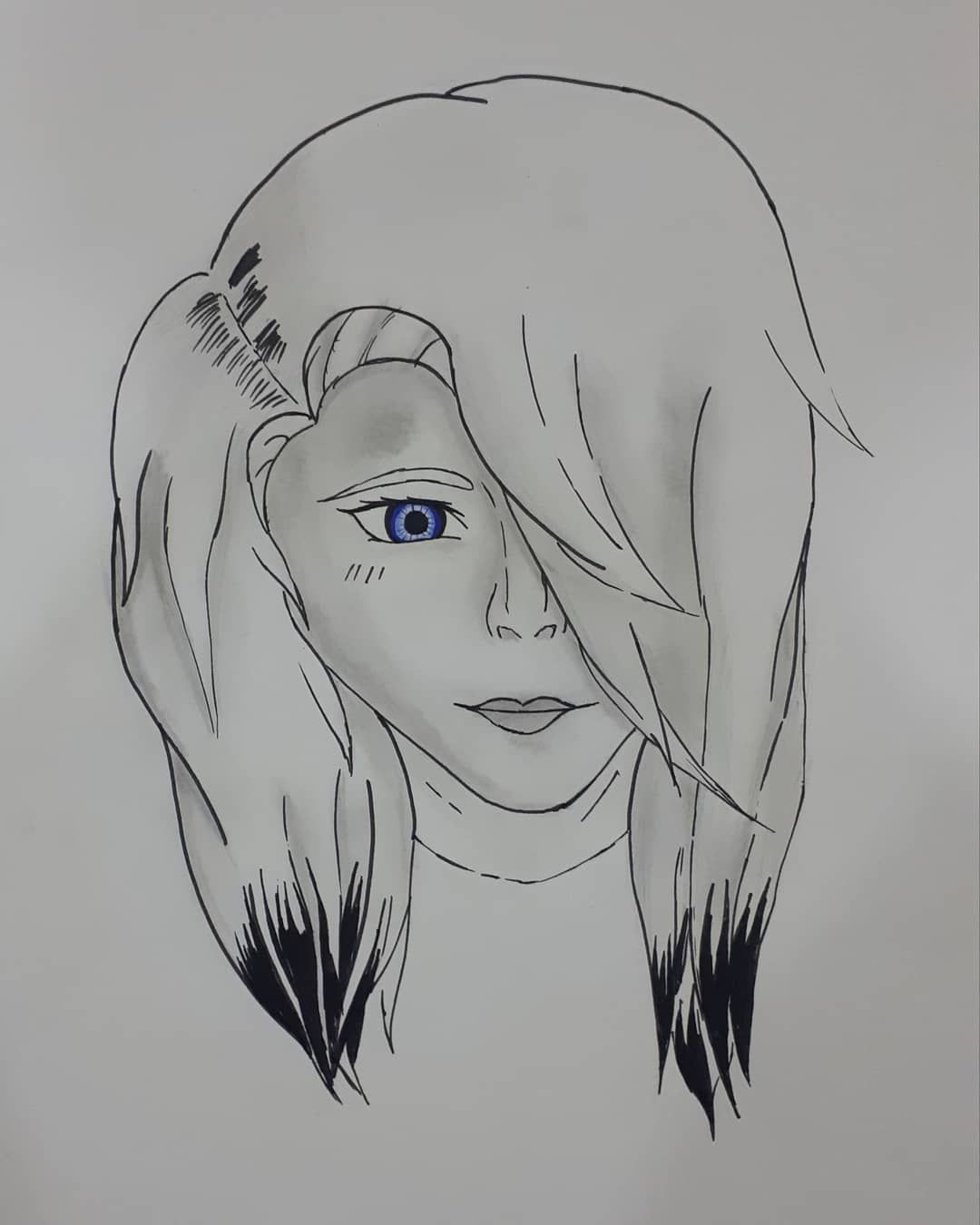New Dawing! (I tried ) #art #artist #draw #drawing #female #femaledrawing #face #head #eye  New Dawing! (I tried ) #art #artist #draw #drawing #female #femaledrawing #face #head #eye #myowndrawing #shaders #itried #realisticdrawing #realistic #hair #hairstyle #girl #girldrawing #facedrawing #coloredeyes #coloredeye #drawingonpaper #15mindrawing #15mins #beautifulgirl #work #trying