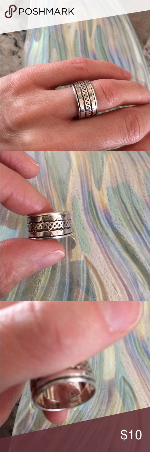 Sterling silver Celtic ring | Celtic rings, Sterling silver and Ring