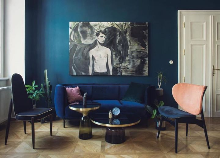 WITTMANN: PETROL BLUE Gorgeous interior with our Vuelta sofa by ...