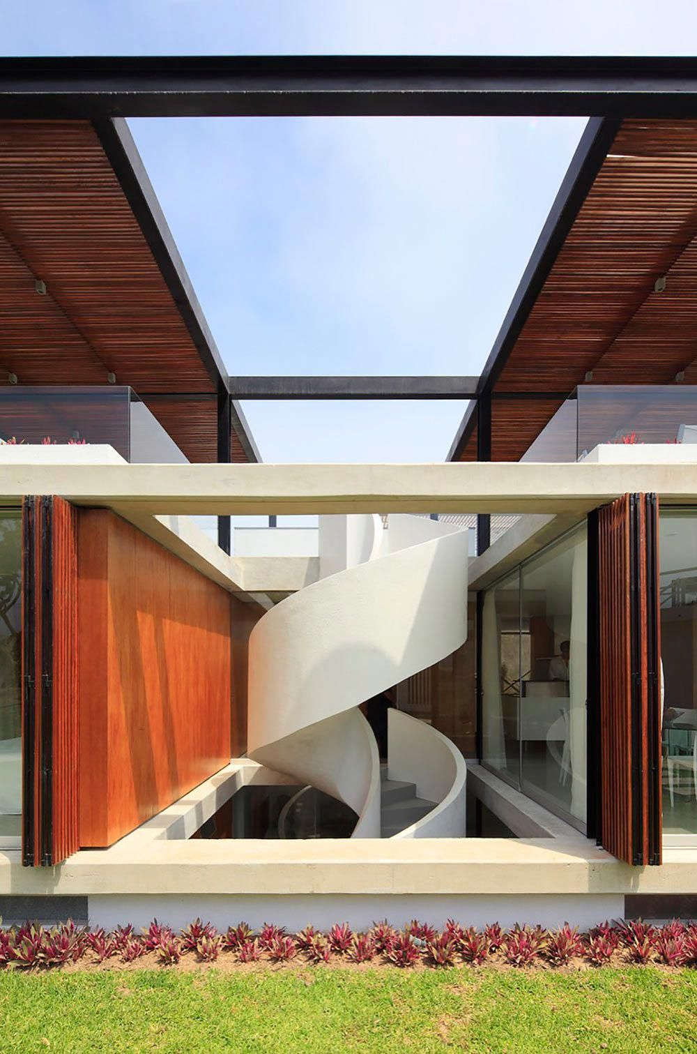 modern staircases you won   complain about running up and down design milk minimalist also rh pinterest