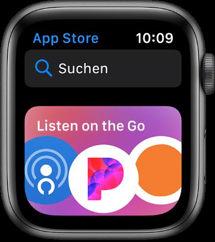 Laden weiterer Apps auf die Apple Watch Apple Support in