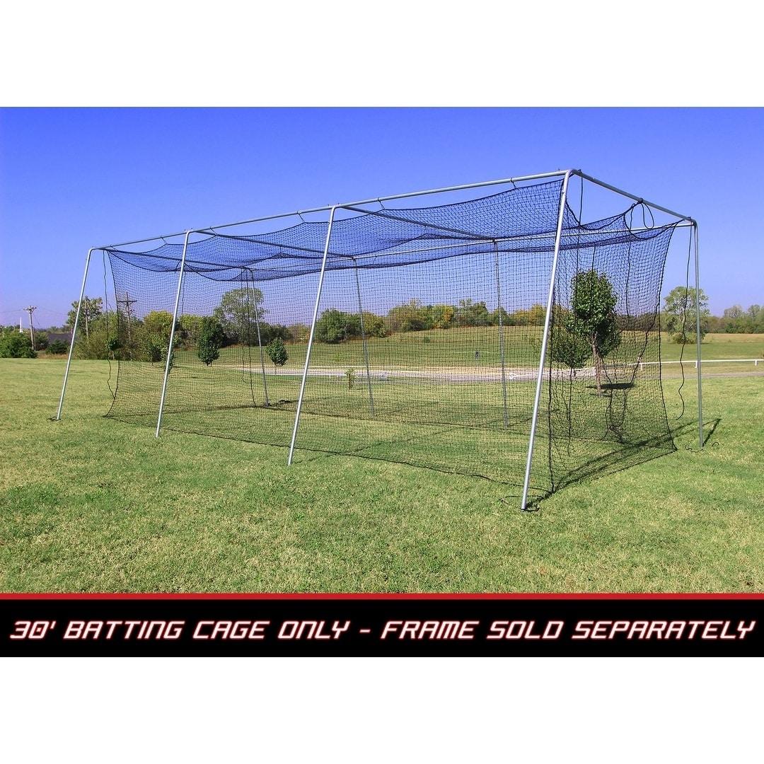 Cimarron sports 30x12x10 no 24 polyethylene batting cage