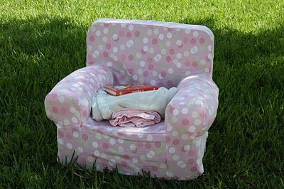 Merveilleux A Crafty Escape: Knockoff Pottery Barn Anywhere Chair (with Link To Etsy  Pattern For Slipcover)