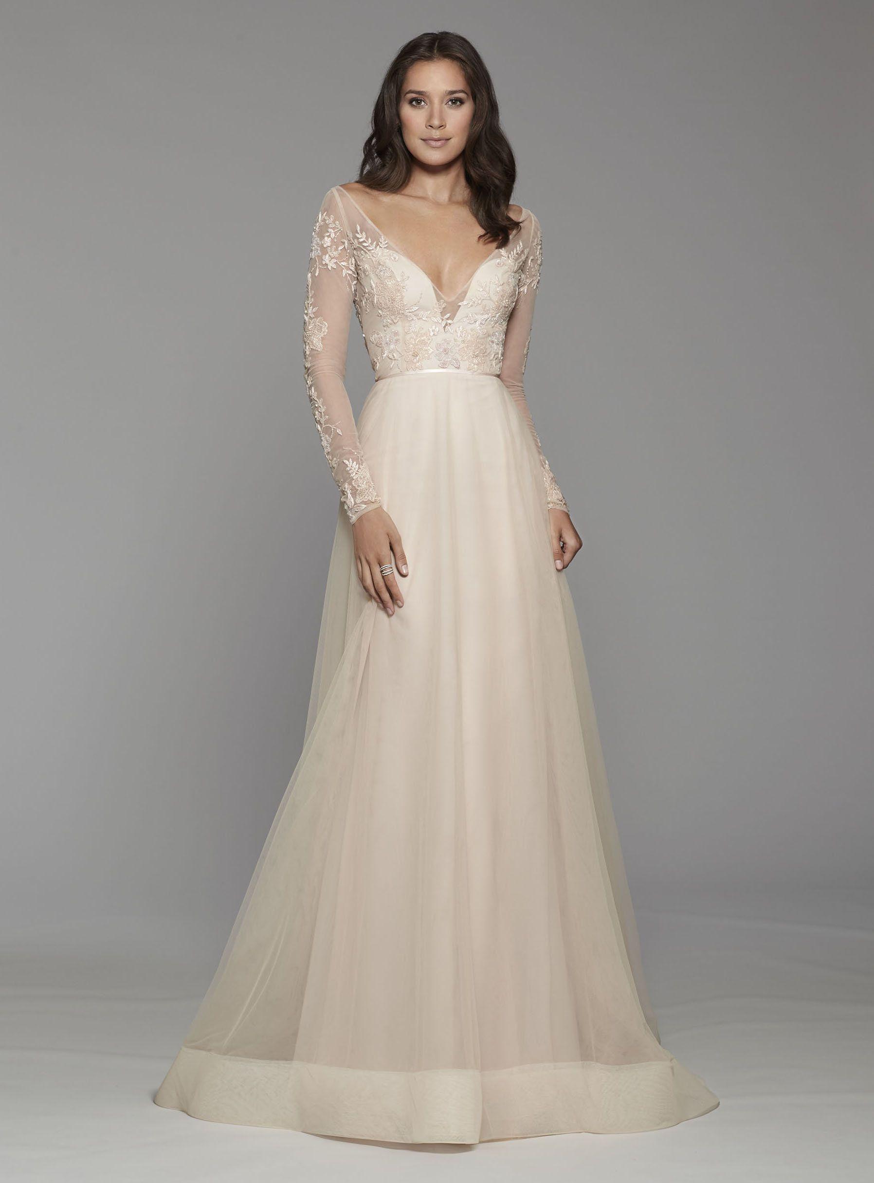 13 Bohemian A-line Wedding Dress  Ärmelhochzeitskleider