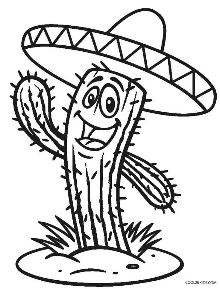 Free Cinco de Mayo Coloring Pages Cinco de Mayo