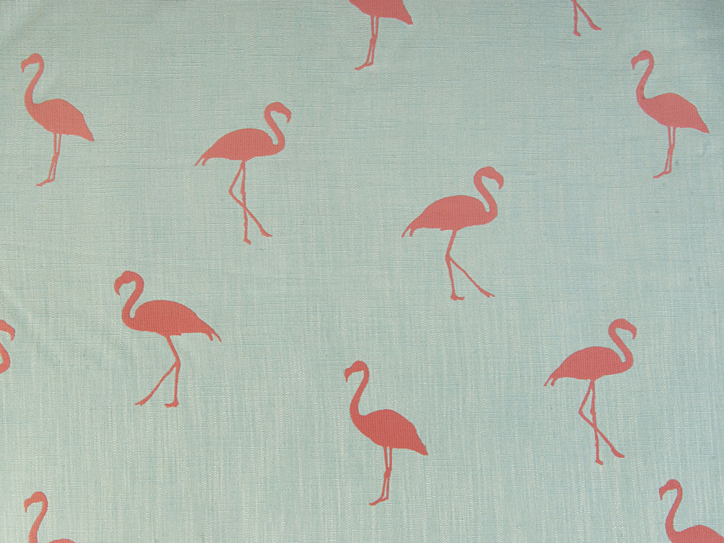 Flamingo Fabric  Color Coral