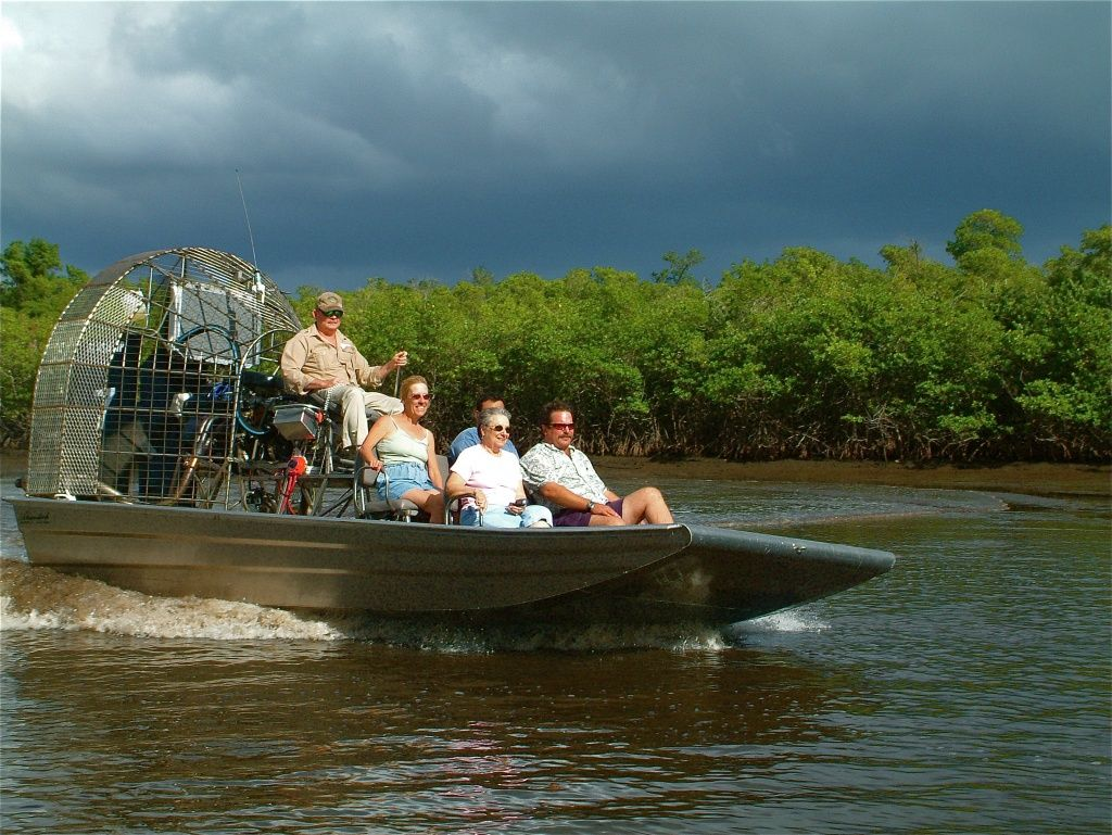 Bill's Airboat Adventures Go for a Ride! Airboat rides
