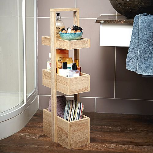 3 Tier Bathroom Storage Caddy Wood Effect Bathroom Storage Cabinets Bathroom Shelving Bathroom Storage Caddy Bathroom Storage Solutions Bathroom Storage
