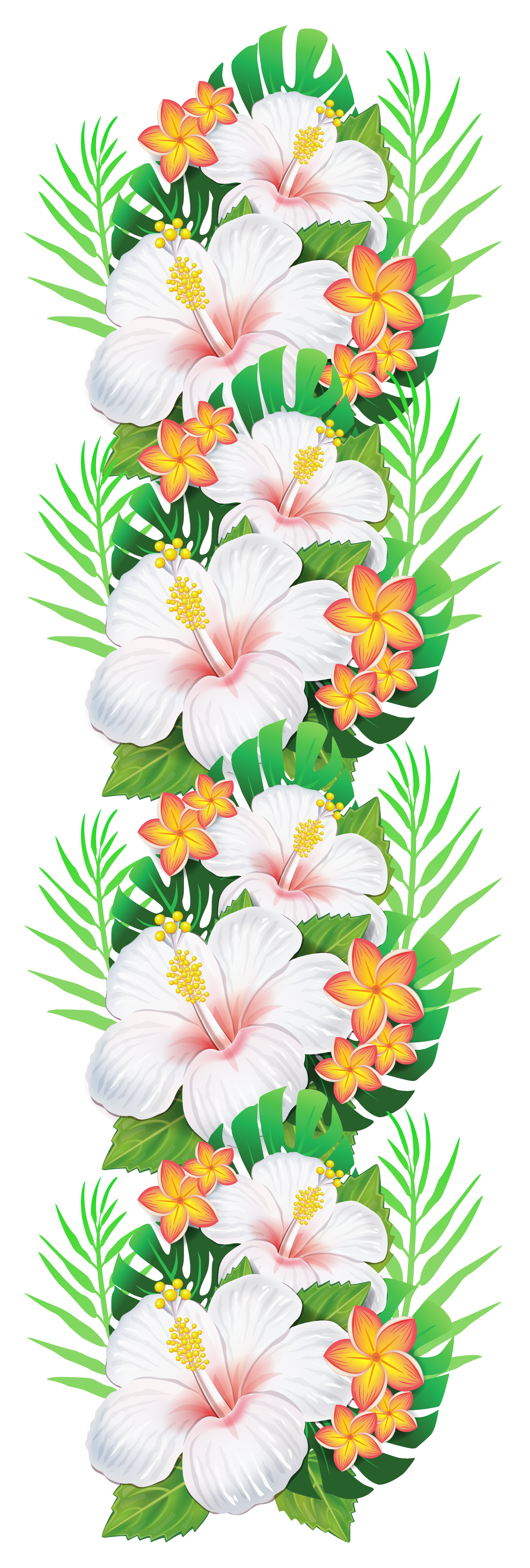 pin exotic flowers
