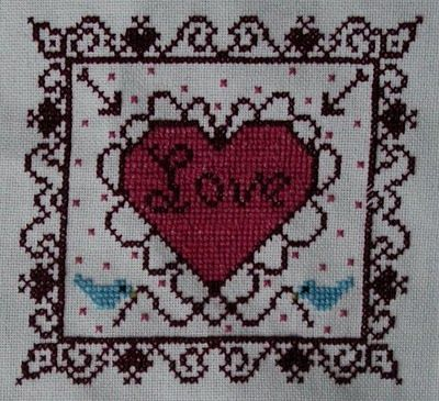 Trillium Creates: Free Valentine Cross Stitch Chart | Projects to ...