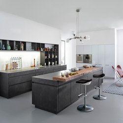 TOCCO | CONCRETE-A - Designer Einbauküchen von Leicht Küchen AG ...