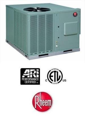 4 Ton 14 Seer Rheem Package Heat Pump Rqplb048jk000 3109