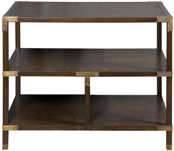 Vanguard Furniture 8513l Faris Tier Table 32 W X 20 D X 27 H Side End Table Vanguard Furniture Furniture End Tables