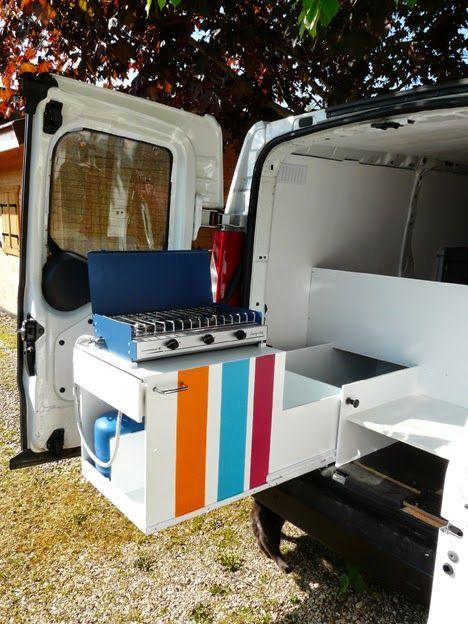 Carnet De Voyages En Gourmandise Amenager Un Fourgon Citroen Jumpy En Mini Van