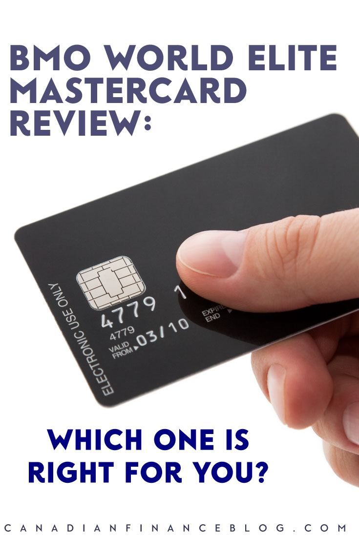Bmo world elite mastercard review which card is right for