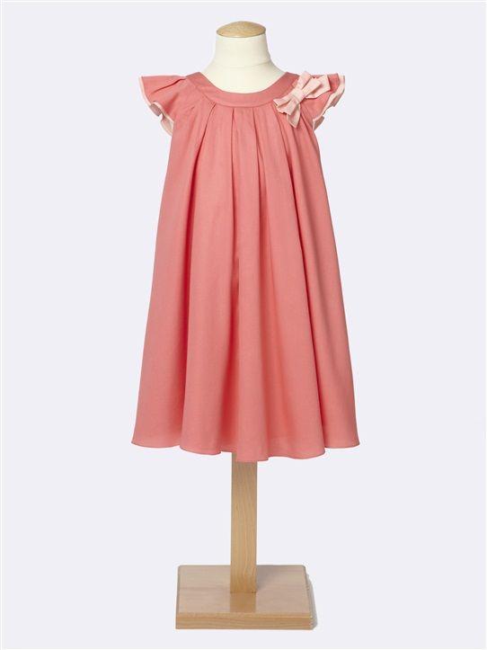 Festliches Blumenmädchen-Kleid mit Schleife KORALLE | Dresses for ...