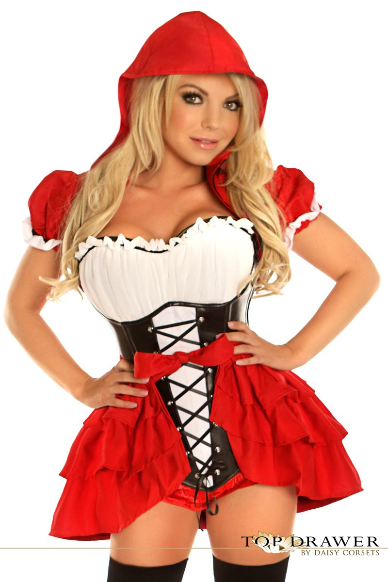 1afd4e32da7 Daisy TD-111 Top Drawer 3 PC Red Riding Hood Costume