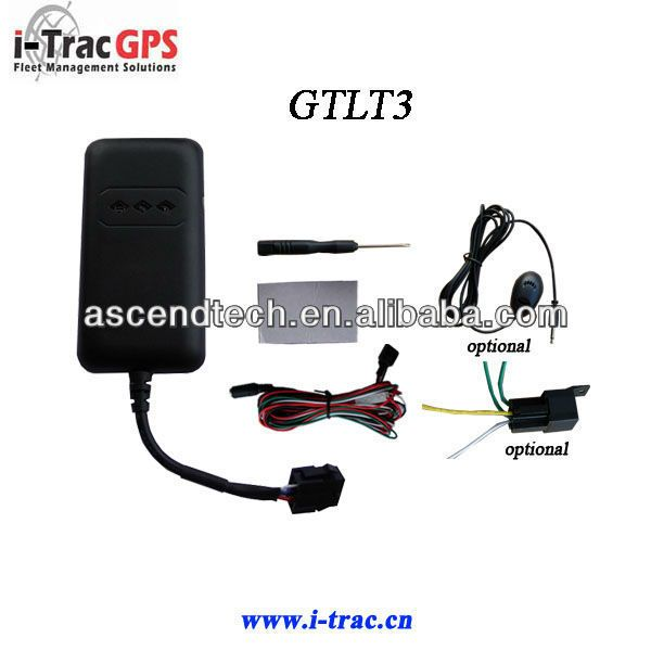 GPS Car tracker with engine cut and sos button and support online