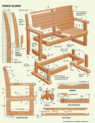 How To Make Your Own Bench Google Search Porch Glider Plans Woodworking Plans Wood Plans