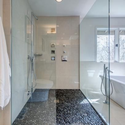 contemporary and modern bathroom pictures   hgtv photos