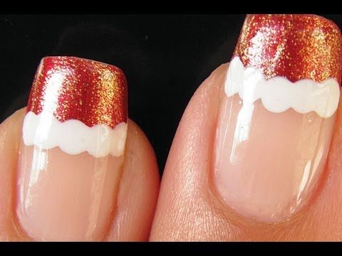 Christmas nail art tutorial santa french manicure crazy about watch this nails nail art video christmas nail art tutorial santa french manicure on fanpop and browse other nails nail art videos prinsesfo Choice Image