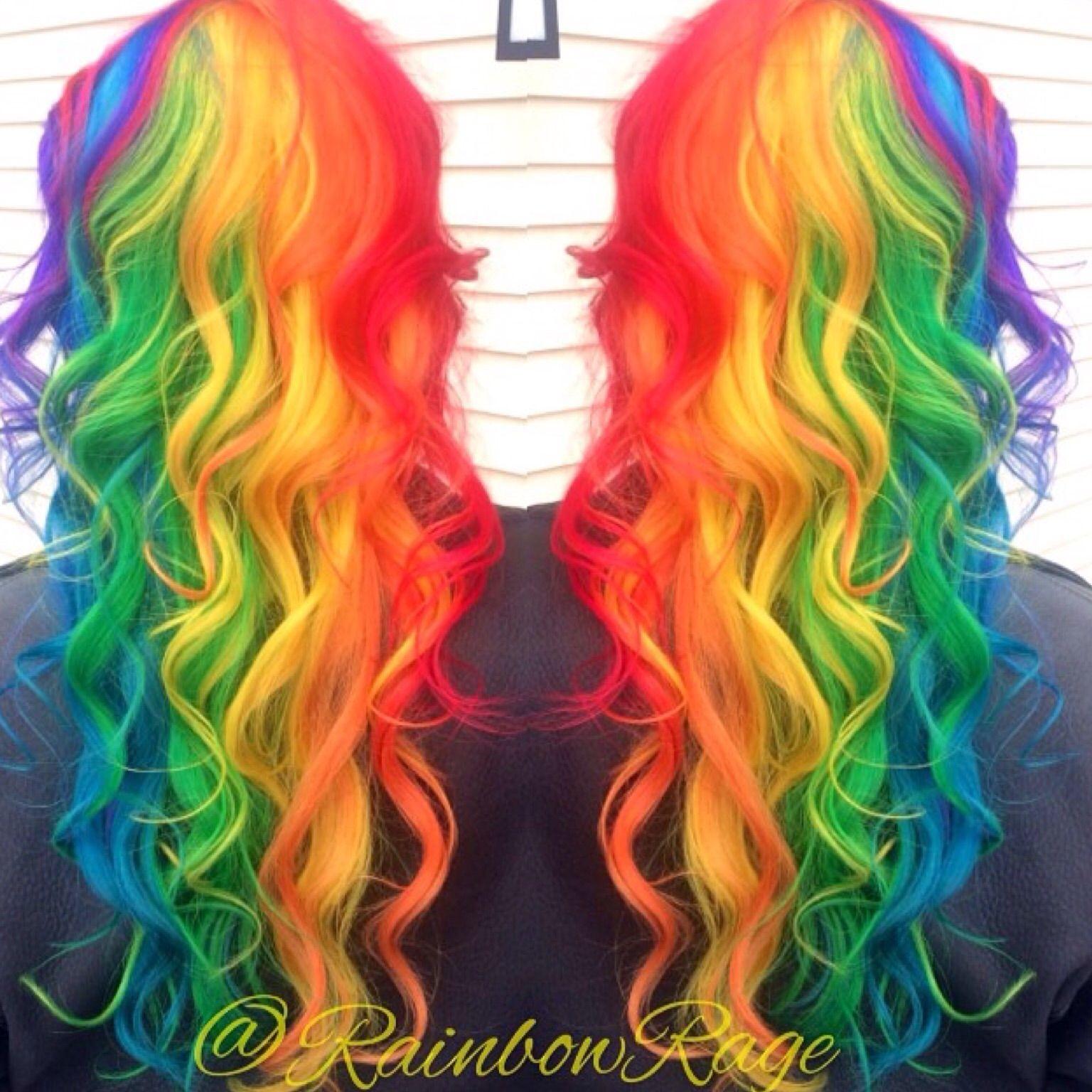 Hair by Rainbowrage cabelos Pinterest Hair coloring Hair