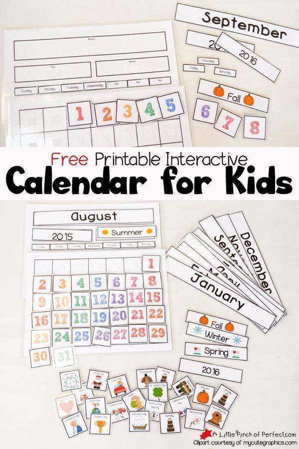 Free Printable School Calendar  Diy Diy Diy Diy Diy