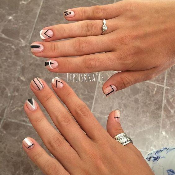 Minimalista | uñas | Pinterest | Minimalistas, Diseños de uñas y ...