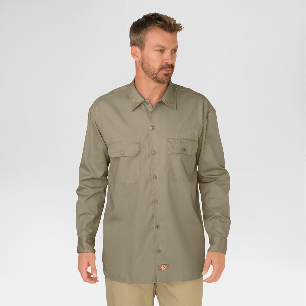 Long Twill Shirt Original Men's Dickies Sleeve Big Work amp; Fit Tall SwRnZOFq