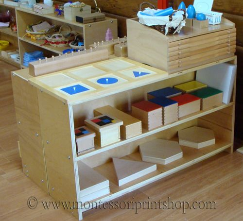 Primary montessori sensorial area 2 montessori for Raumgestaltung montessori