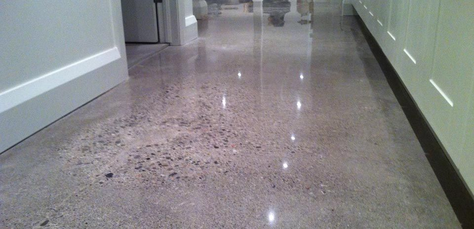 Grind And Polish Basement Concrete Floor Google Search