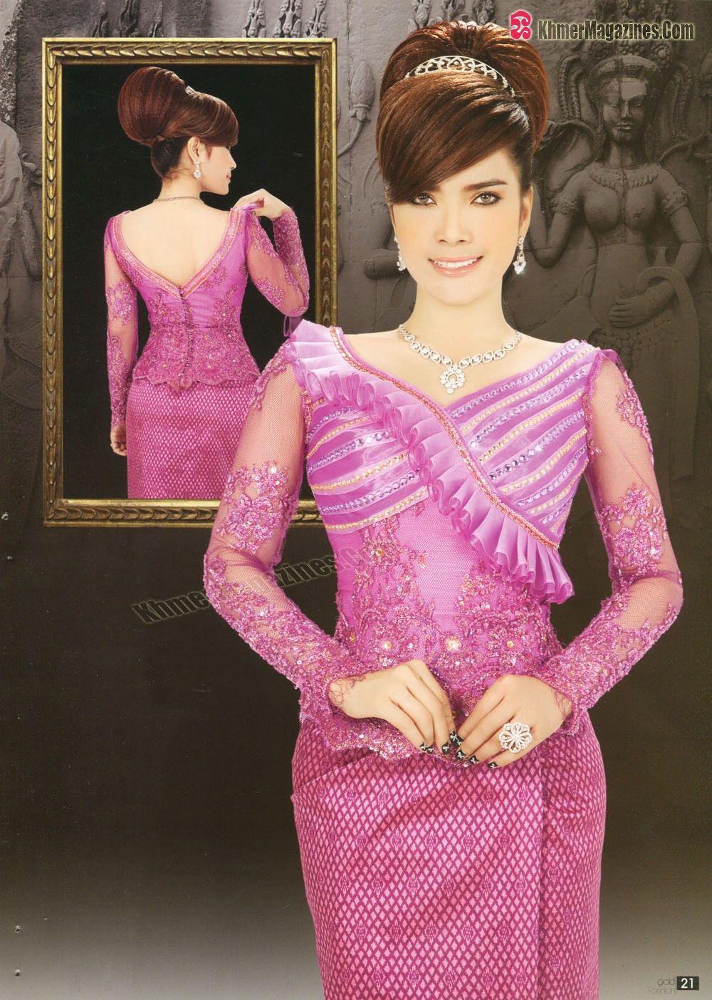 khmer fashion | detalles | Pinterest | Taller de costura, Vestidos ...