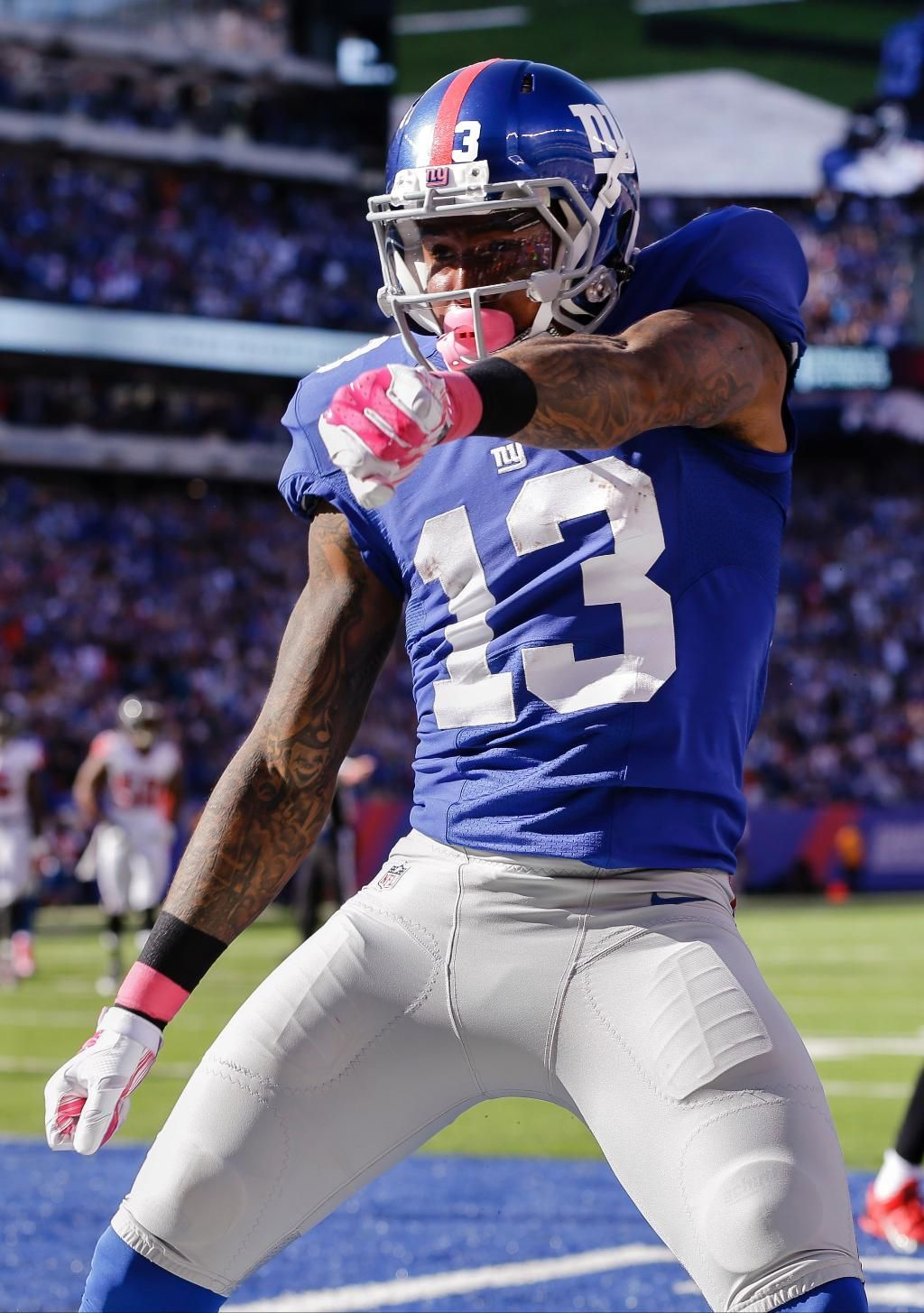 Falcons Report Card Kroy Biermann Fuels The Comeback Ny Giants Football Nfl Football Players Football
