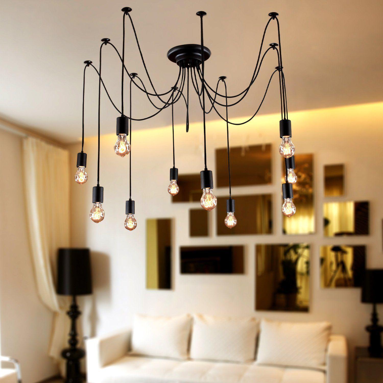 LightInTheBox Chandelier Vintage Design Bulbs Included Living 10 ...