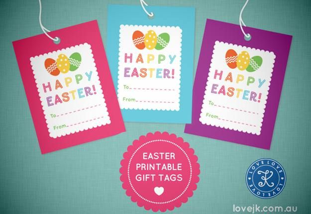 Free easter gift tag printable easter pinterest gift tags free easter gift tag printable negle Choice Image